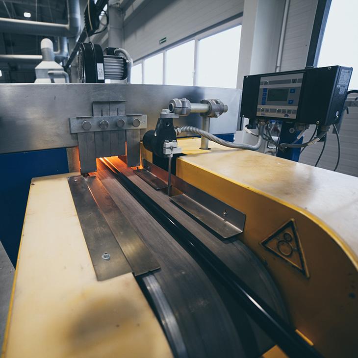 park maszynowy JSF Silikon wytłaczanie rubicon