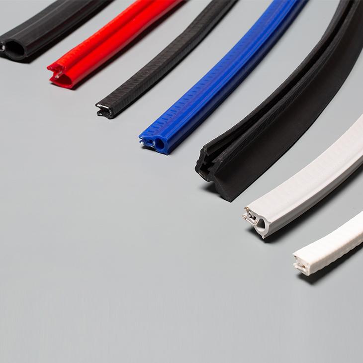 profile silikonowe wzmacniane metalowym drutem